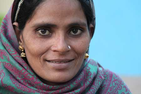 One Village producer in Gujarat, western India   